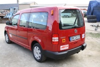 roter VW Caddy